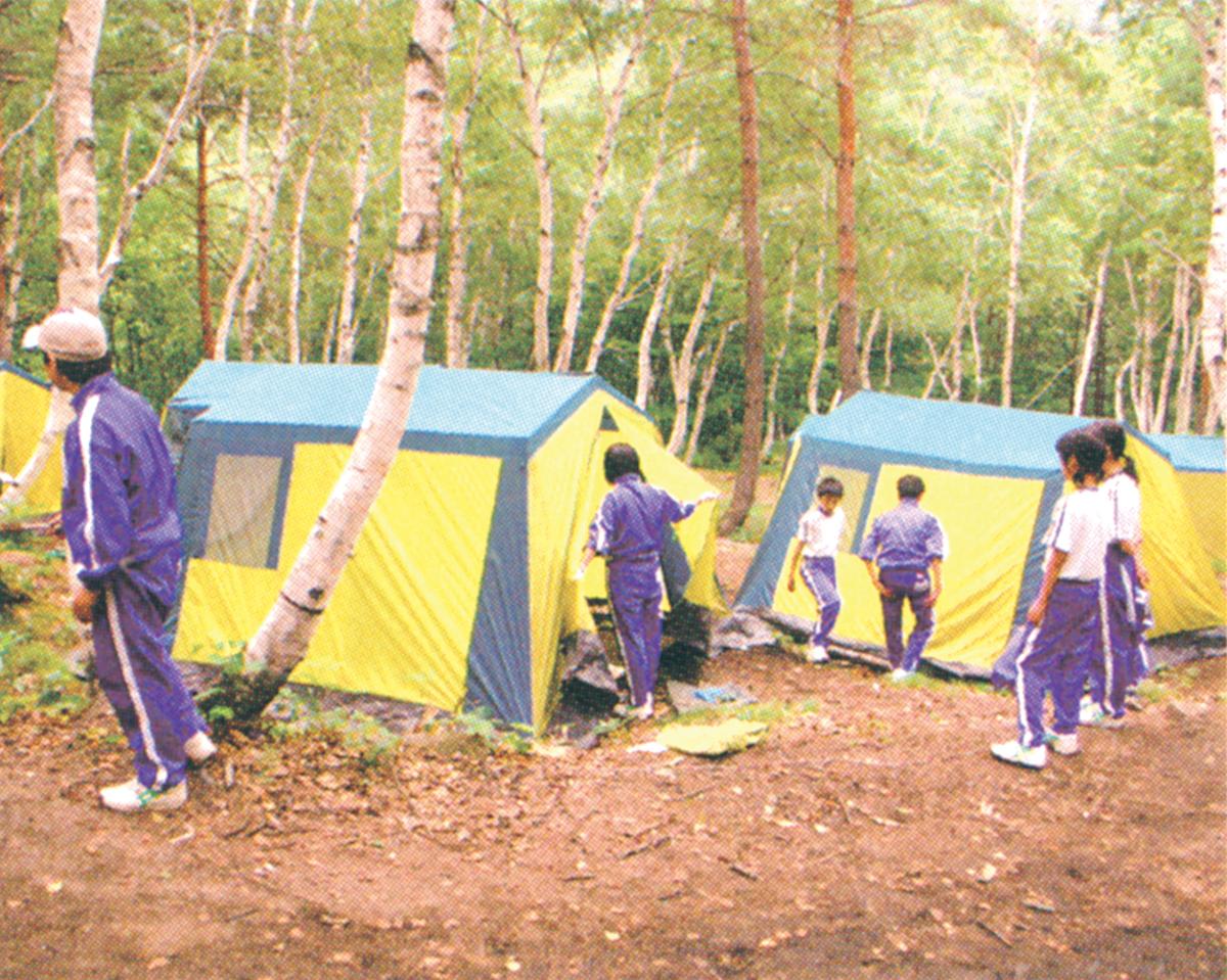 キャンプ(テント)
